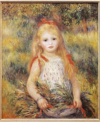 The Gleaners Photograph - Renoir, Pierre-auguste 1841-1919 by Everett