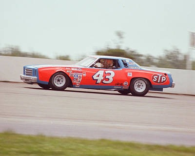 The King Photograph - Richard Petty by Retro Images Archive