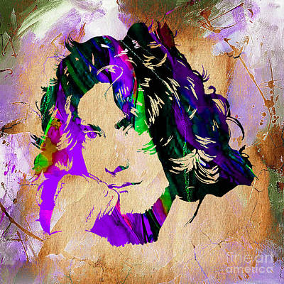 Rock And Roll Mixed Media - Robert Plant Collection by Marvin Blaine