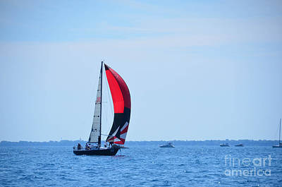 Photograph - Sailboat Race by Randy J Heath
