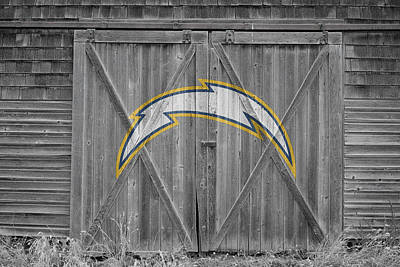 Photograph - San Diego Chargers by Joe Hamilton