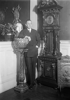 Sergei Rachmaninoff (1873-1943) Art Print by Granger