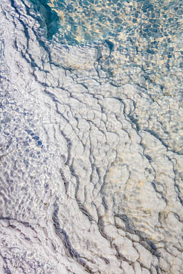 Silica Photograph - Silica Deposits In Water By The by Panoramic Images