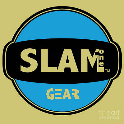Digital Art - Slam One Gear by James Eye