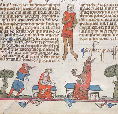 Miraculous Photograph - Smithfield Decretals by British Library