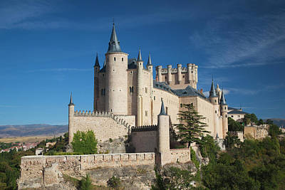 Spain, Castilla Y Leon Region, Segovia Art Print by Walter Bibikow