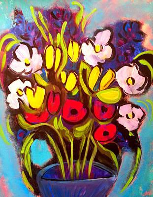 Painting - Spring Flowers by Nikki Dalton