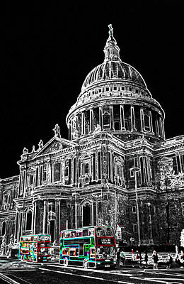 St Pauls Cathedral London Art Art Print by David Pyatt
