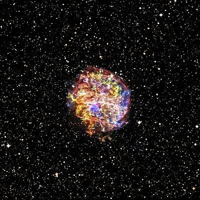 X-ray Image Photograph - Supernova Remnant by Nasa