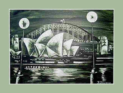 Sydney Opera House Art Print by Yelena Revis