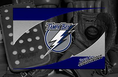 Lightning Photograph - Tampa Bay Lightning by Joe Hamilton