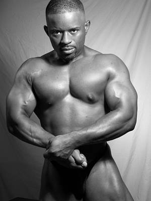 Photograph - The Bodybuilder by Jake Hartz