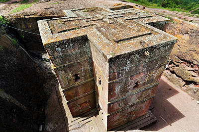 The Rock-hewn Churches Of Lalibela Art Print