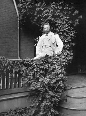 Photograph - Theodore Roosevelt(1858-1919) by Granger