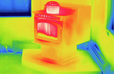 Thermogram Photograph - Thermogram by Science Stock Photography