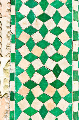 Grid Photograph - Tiles by Tom Gowanlock