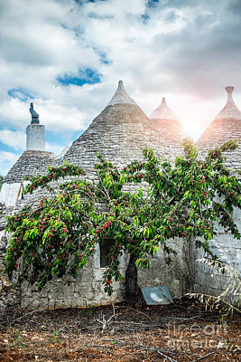 Alberobello Photograph - Trulli House by Sabino Parente