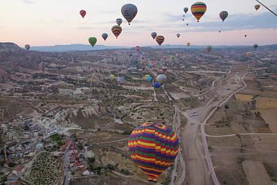 Cappadocia Wall Art - Photograph - Turkey, Cappadocia by Emily Wilson