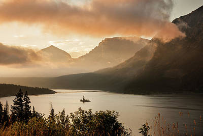 Usa, Montana, Glacier National Park Art Print