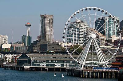 Trish Photograph - Usa, Wa, Seattle by Trish Drury