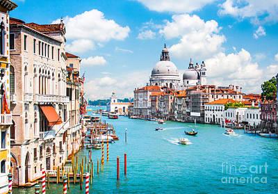 Venezia Photograph - Venice by JR Photography