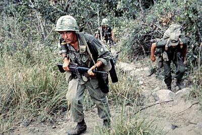 Photograph - Vietnam War, 1966 by Granger