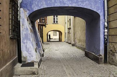 Warsaw Old Town. Art Print by Fernando Barozza
