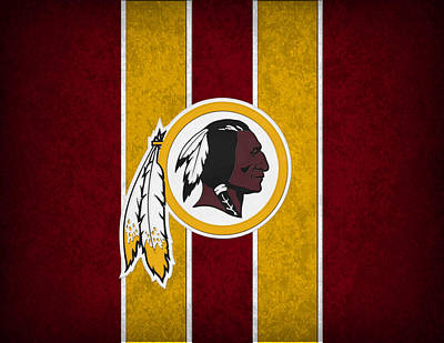 Washington Redskins Art Print by Joe Hamilton