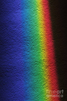 White Light Spectrum Art Print by GIPhotoStock