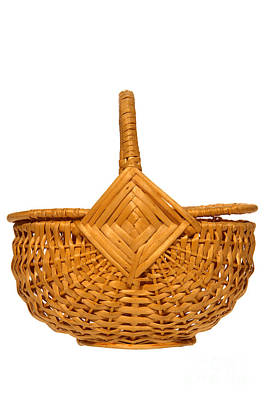 Photograph - Wicker Basket Number Four by Olivier Le Queinec