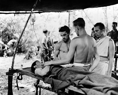 Photograph - World War II New Guinea by Granger