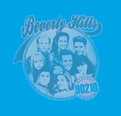 Beverly Hills Digital Art - 90210 - Circle Of Friends by Brand A