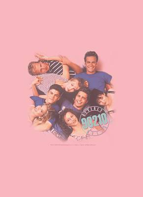 Beverly Hills Digital Art - 90210 - Gang In Logo by Brand A