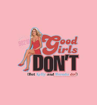 Beverly Hills Digital Art - 90210 - Good Girls Don't by Brand A
