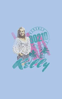 Beverly Hills Digital Art - 90210 - Kelly Vintage by Brand A