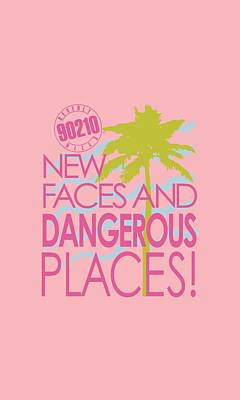 Beverly Hills Digital Art - 90210 - Tagline by Brand A