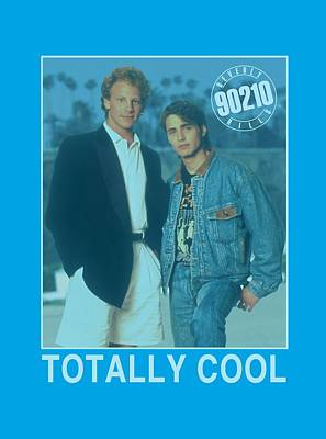 Beverly Hills Digital Art - 90210 - Totally Cool by Brand A