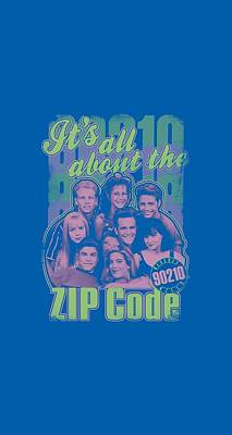 Beverly Hills Digital Art - 90210 - Zip Code by Brand A