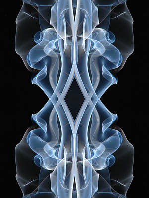 Photograph - 9053 Vertical Flow Spirit Art by Chris Maher