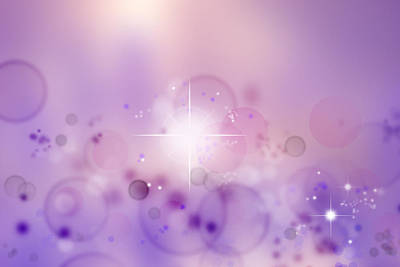 Constellation Digital Art - Abstract Background by Les Cunliffe