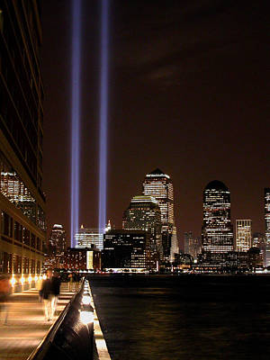 Art Print featuring the photograph 911 Anniversary by Gary Slawsky