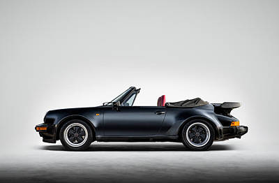 911 Cabrio Art Print by Douglas Pittman