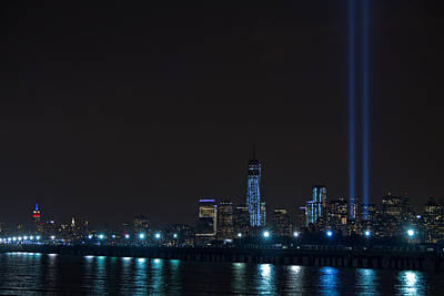 911 Tribute In Lights 2 Art Print
