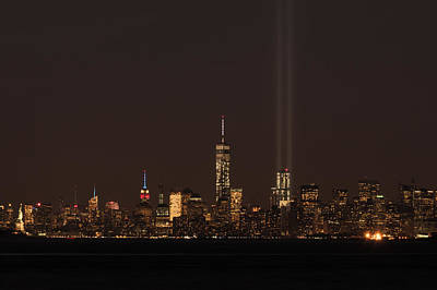 Photograph - 9.11.2014  View From Staten Island by Kenneth Cole