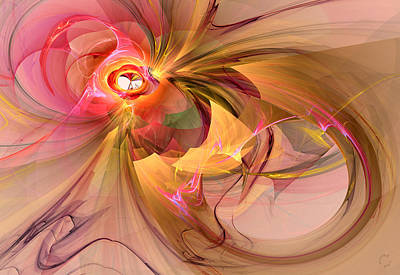 Generative Digital Art - 914 by Lar Matre