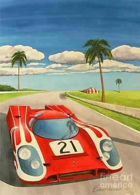 Leman Painting - 917 K by Robert Hooper