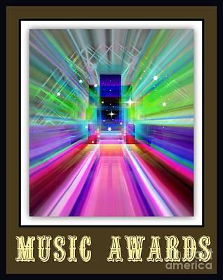 Music Awards Art Print by Meiers Daniel