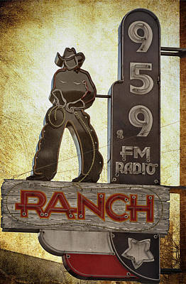 95.9 The Ranch Art Print