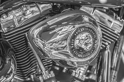 Photograph - 96 Cubic Inche Harley  by John McGraw