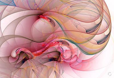 Generative Digital Art - 988 by Lar Matre